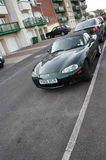 Sports car for not very sporty people!