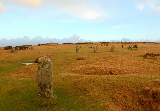 the hurlers stone circle bodmin moor