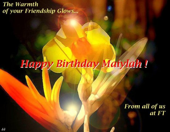 APRIL 18 IS MAIYLAH'S BIRTHDAY!!! CHEERS!!!