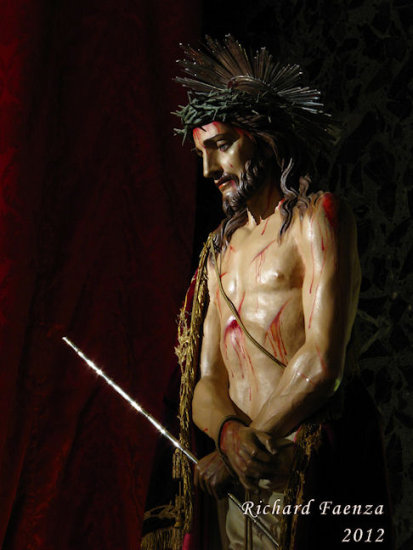 Good Friday Holy Week Passion of Christ statues sculpture Senglea Ma