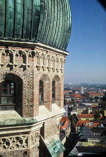 munich above tower church velvia