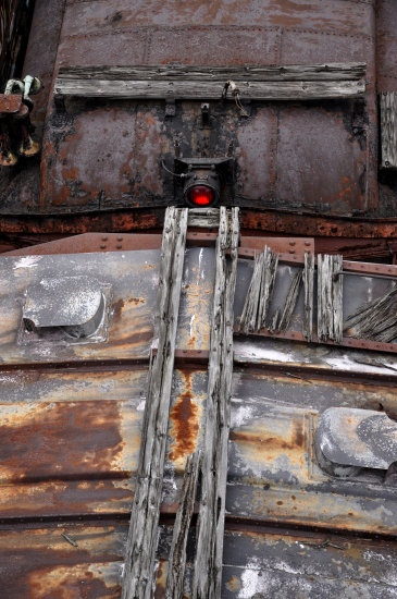 steamtown scranton pennsylvania railroad train cars rust