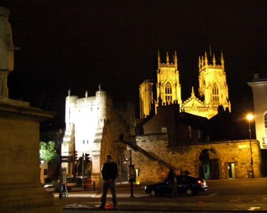 York Minster night wee