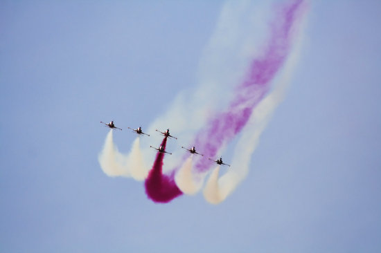 This team is T�rk Yildlizari, the Turkish Stars. The perform the most amazing airshow I have ever...