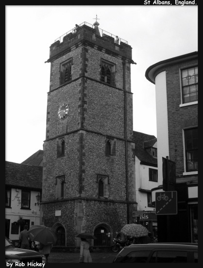 st Albans Hertfordshire England Black and white Rob Hickey 2011