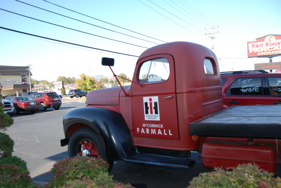pigeon forge red rooster international harvester mccormick farmall
