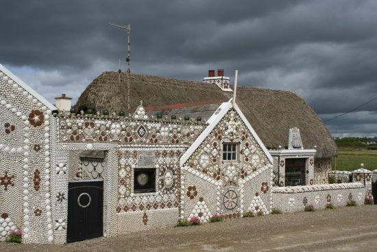 shell house in wexford ireland