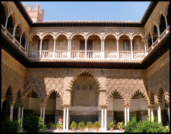 spain sevilla real alcazar