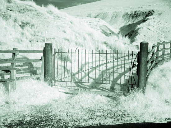 infrared iron gate