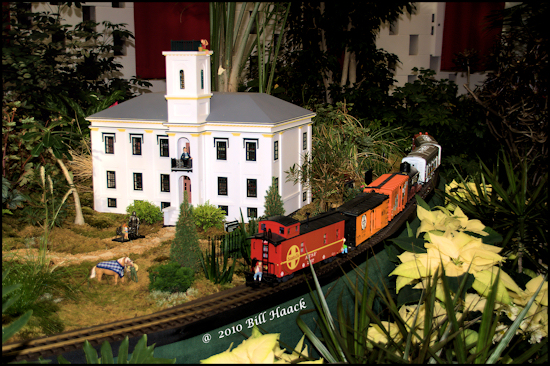 stlouis missouri us train scale MOBOT annual show caboose house estate 010410