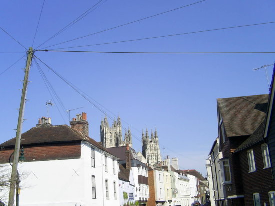 City Canterbury View Cathedral