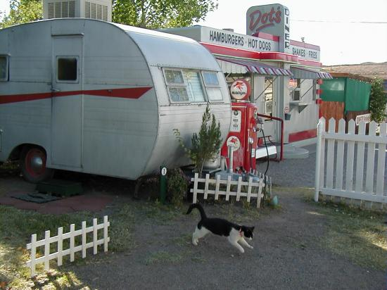 arizona retro diner cat trailer