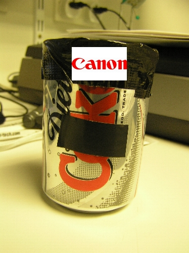 CANon  lame, i know :D  this is my pinhole camera that i took the previous series with. i mad...
