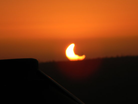 Solar Eclipse Sun Sunset