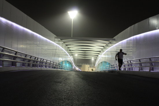 running man bridge yas jog night