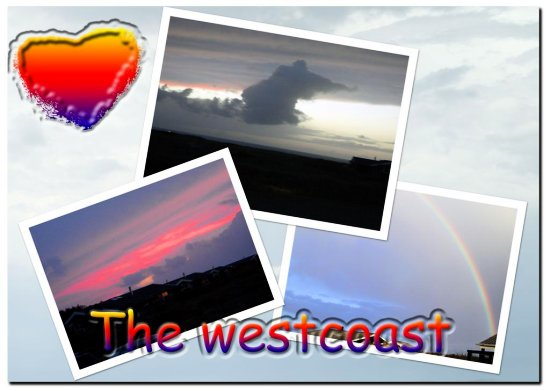 Collage from the westcoast of Denmark..