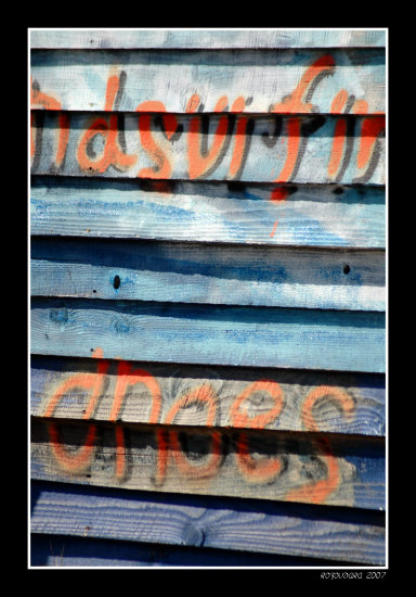 detail lesvos greece wood colour