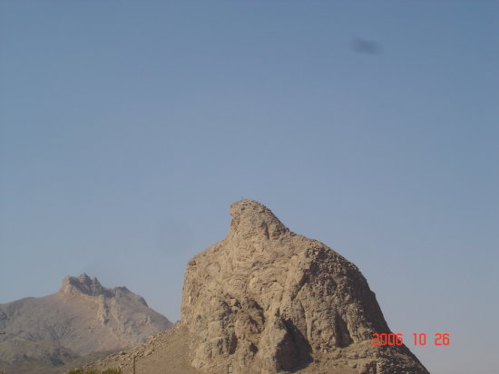 Iran Yazd Taft Eagle Mountain