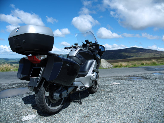 BMW R1200RT Motorcycle Dublin Mountains