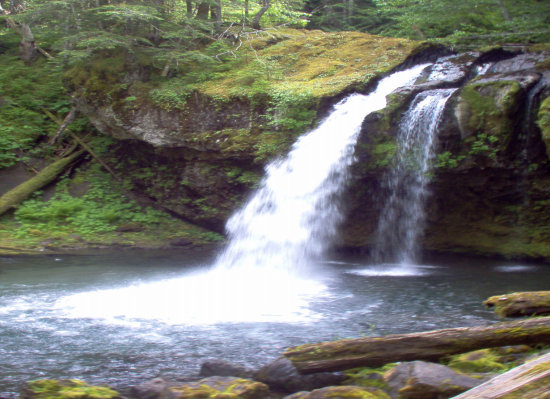 Iron Creek Falls WA