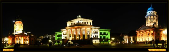 udo wolter uwp festival of lights berlin night panorama gendarmenmarkt