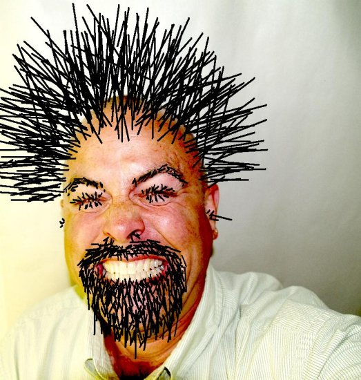 Porcupine Spikes Hairstyle Hairstyles Wordplaysalon