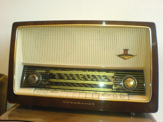 A good old radio in former times the mark Nordmende class 1962