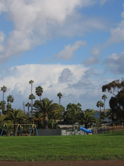 Catalina playground clouds sky