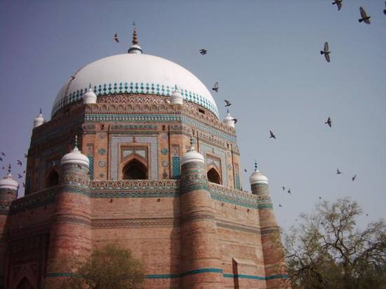 Pakistan Punjab Multan Saint Shrine Building