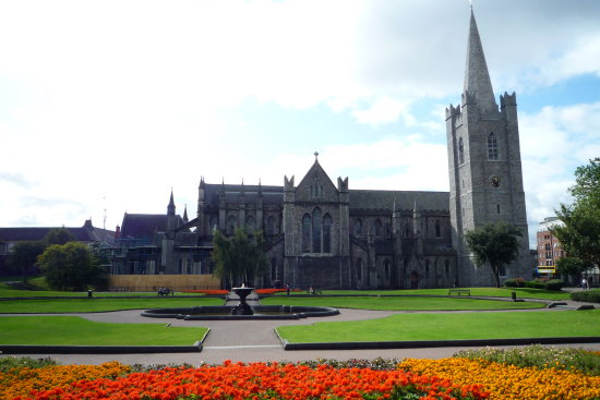 St Patricks Church Dublin Ireland