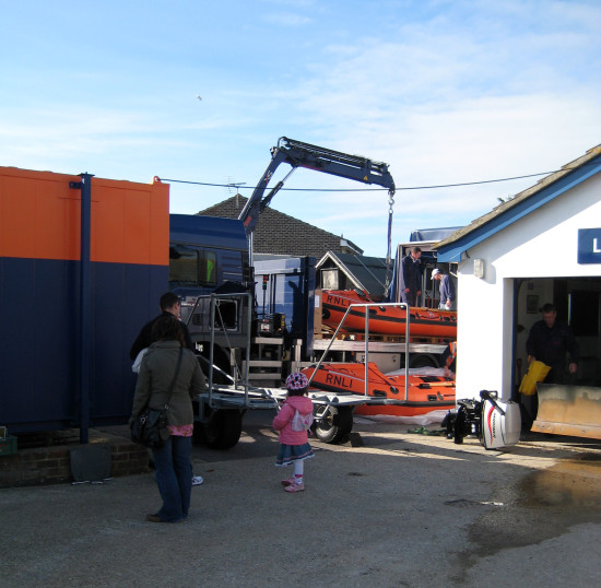 Half term holiday - a few days' break...   13. The little inshore lifeboat was going for an ove...