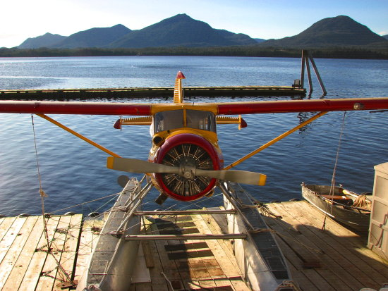 DeHavilland Beaver float plane Alaska
