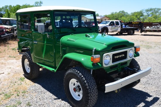 Restored Toyota Land Cruiser For Sale
