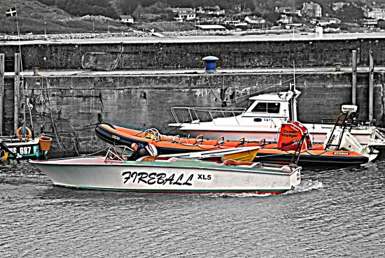Padstow Harbour Cornwall Boats hdr 2011rob