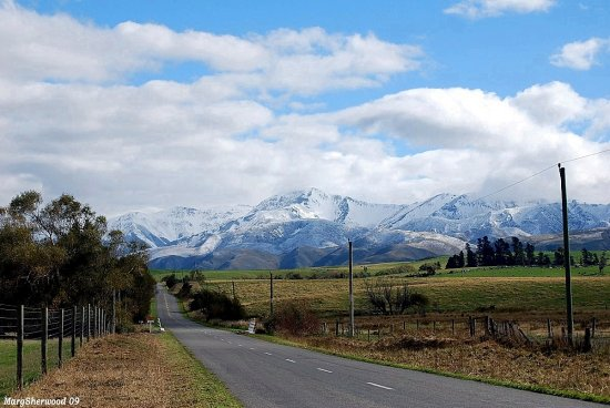 inland kaikoura road south island newzealand