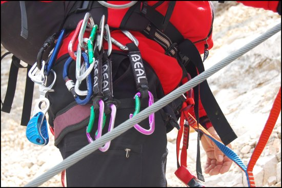 security climbing mountains alps alpen harness