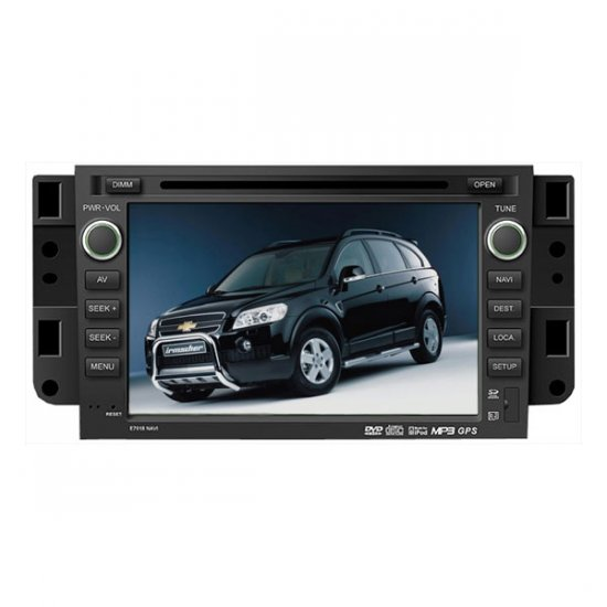 Chevrolet New Captiva DVD Navigation