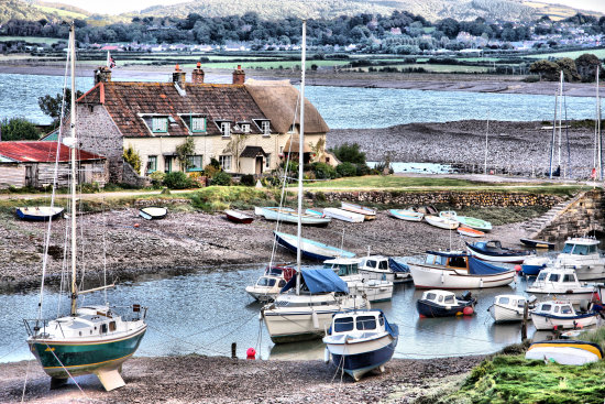 Somerset porlock harbour