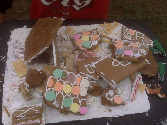 gingerbread stable gone