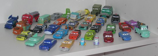Pixar cars model toy arabalar disney