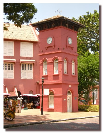 malaysia malacca architecture townhall tower malax archm townm towem