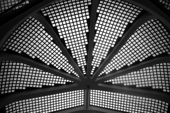 dome celling architecture mono Prague Bohemia