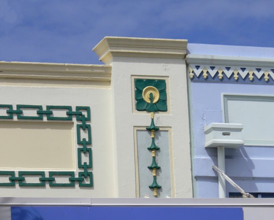 ArtDeco features buildings architecture Napier NZ