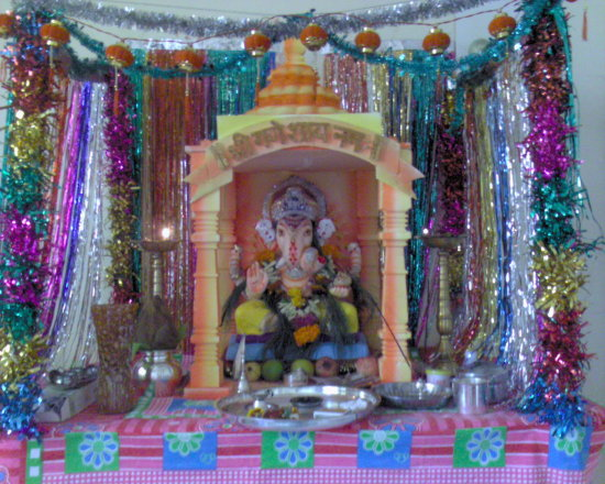 My Friends Relatives House Ganesh Festival Celebration3