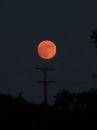 Full Moon Wyoming Mi