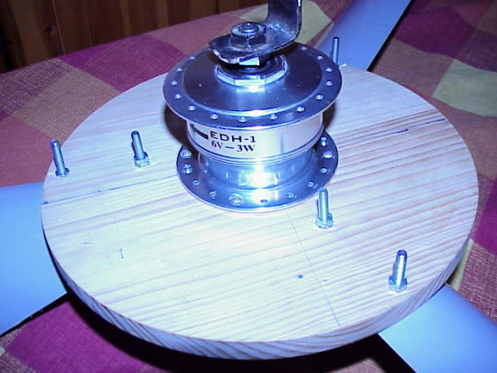 Turbine made for under �20  1 - Wooden chopping board �1 - waterproofed using olive oil 2 - Bi...