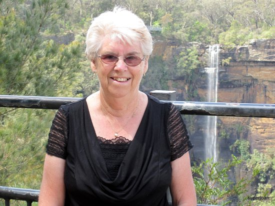 Joan at Fitzroy falls
