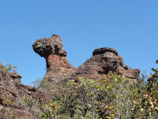 plateau rock formations