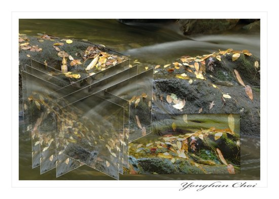 creek water flow river digital photography
