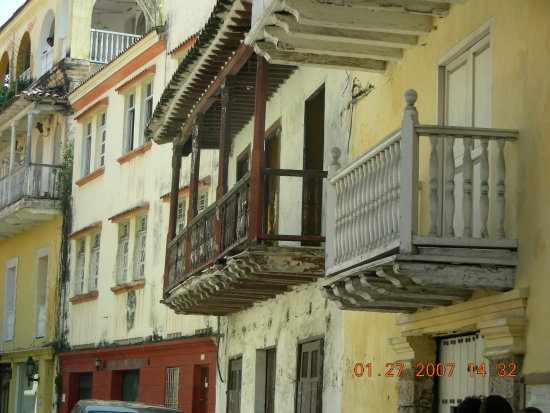 BALCONES DE CARTAGENA COLOMBIA